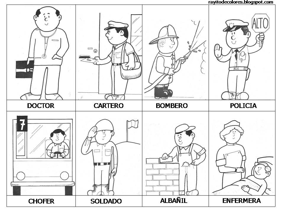 Profesiones Y Oficios Téma Povolání Rodičů Profesiones Para