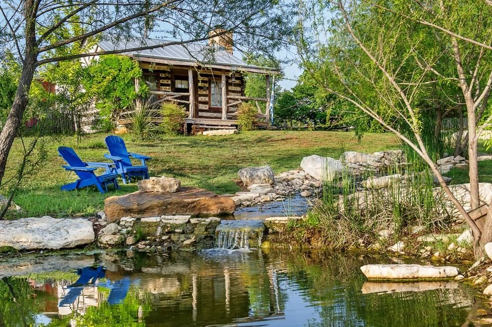 Cabin by a stream yes yes yes Cabins in texas