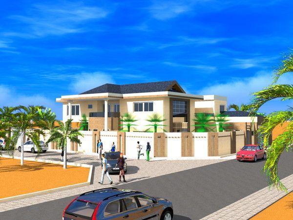 Projet De Construction D Une Villa A Lome Au Togo