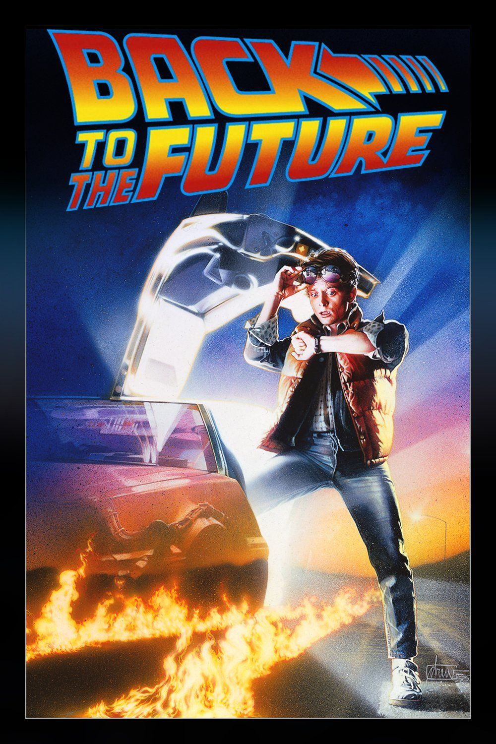 Marty McFly, a 17-year-old high school student, is