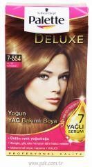 Palette Deluxe 7 554 Altin Karamel Sac Boyasi Urunler Sac Cilt