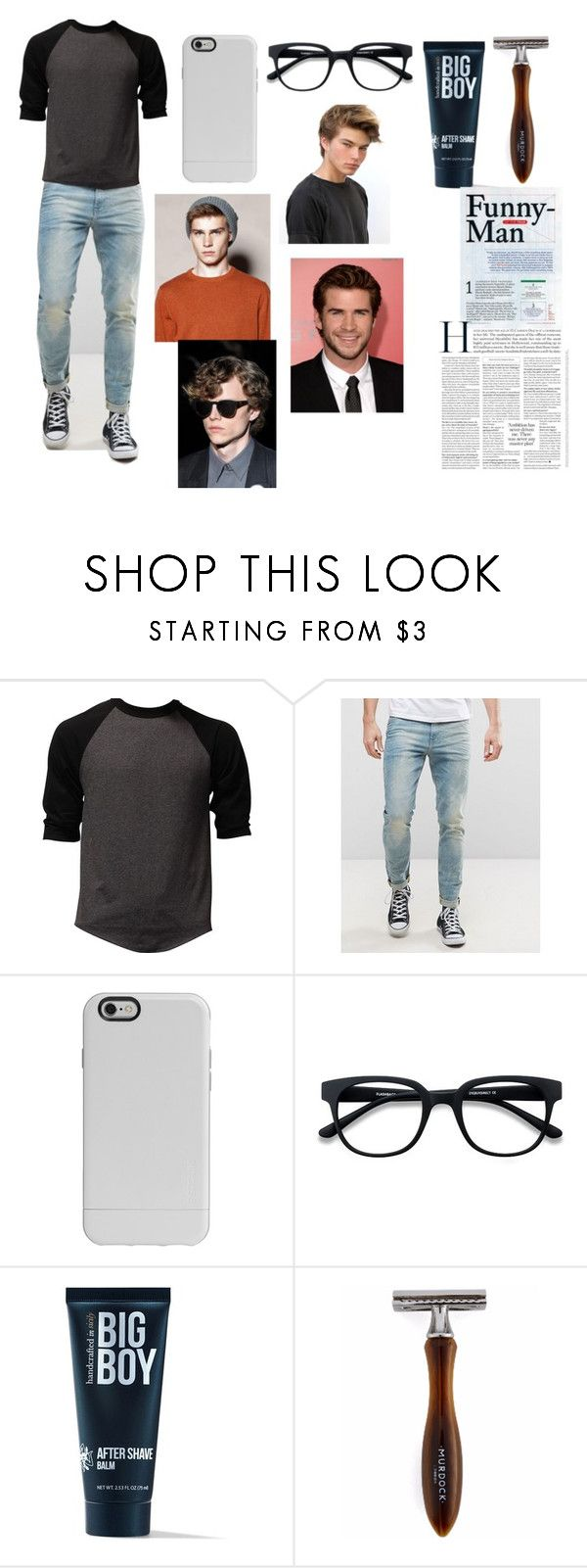 """""""Bad Boy In Glasses"""" by canada-nickname ❤ liked on Polyvore featuring ASOS, Incase, 21 Men, men's fashion and menswear"""