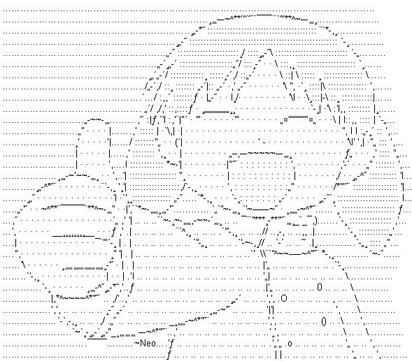 Ascii art thumbs up
