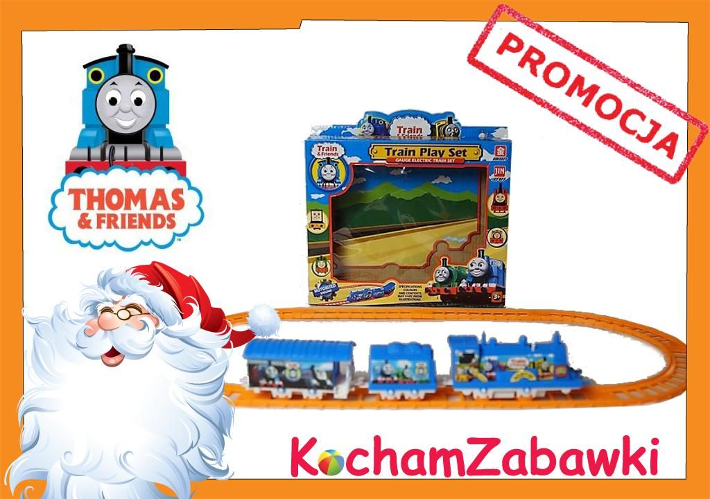 Pociag Elektryczny Kolejka Tomek I Przyjaciele Hit Thomas And Friends Playset Frosted Flakes Cereal Box