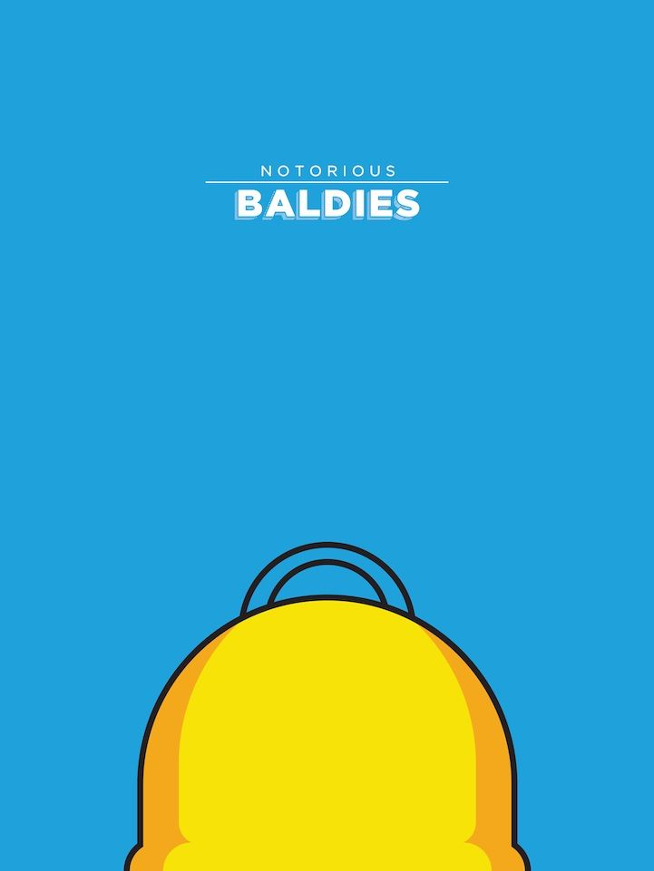 Notorious Baldies. Artista brasileiro Mr Peruca