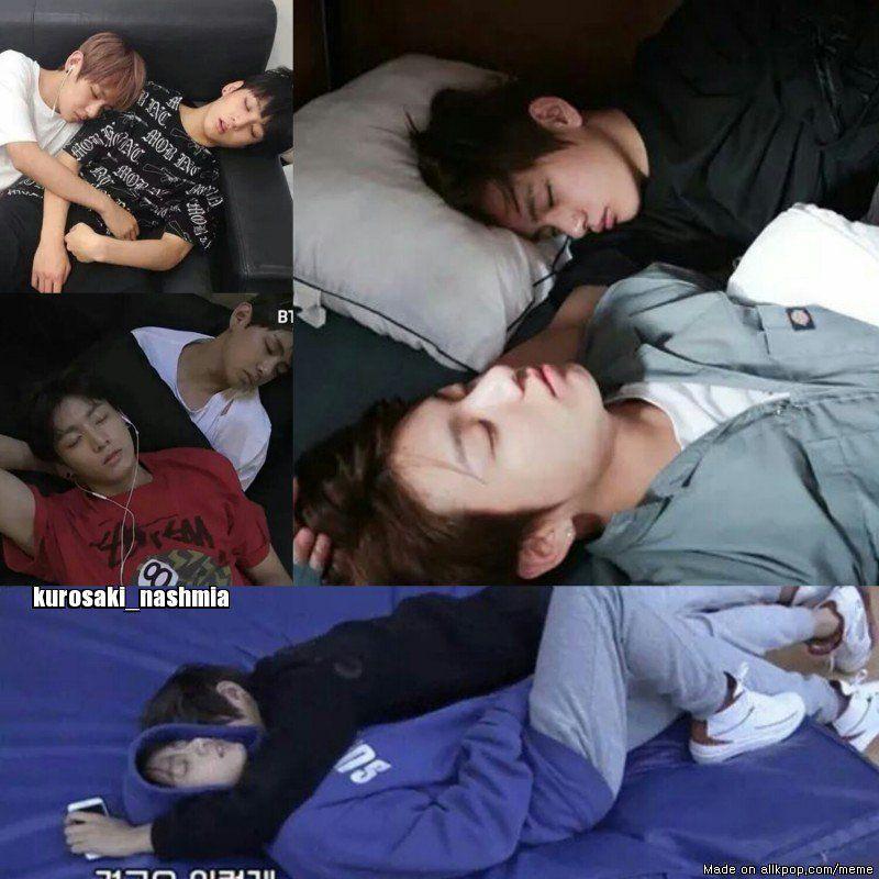 duermen juntos que lindo. ♥