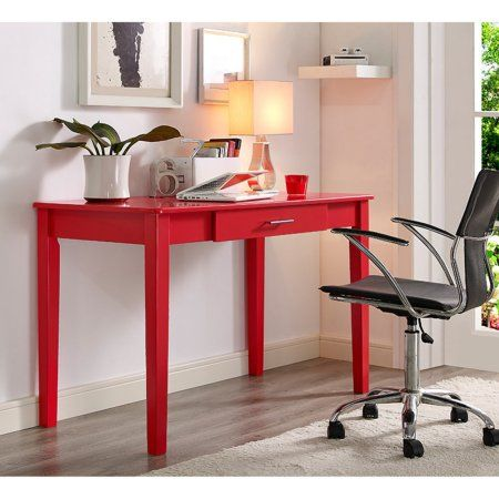 Magnificent 48 Inch Modern Home Office Wood Writing Computer Desk With Beutiful Home Inspiration Semekurdistantinfo