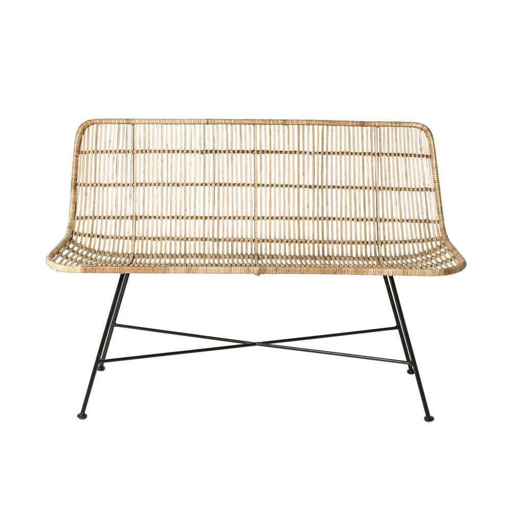 Bank Rattan Bloomingville Natural Rattan Sofa Just Us With Bebe