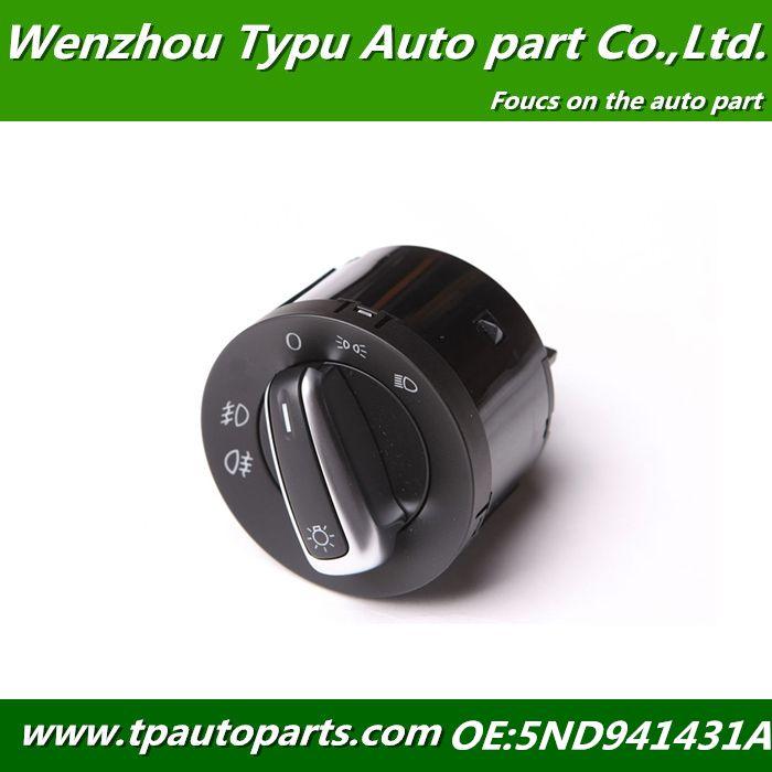 Chrome Euro Headlight Switch Contorl For Vw Jetta Golf Gti Mk5 Mk6 Rabbit 5nd941431a 5nd 941 431 A Xsh 3c8 941 431 19 99 Vw Jetta Golf Gti Gti