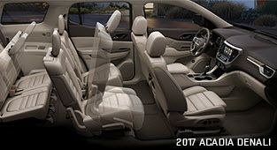 Choose Your 2017 Acadia Mid Size Suv Gmc