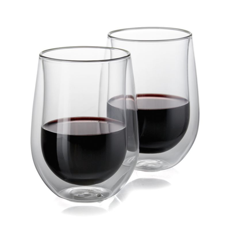 dc66aad5fdc Zwilling Sorrento Double-Wall Red Wine Glasses, Set of 2 | Products ...