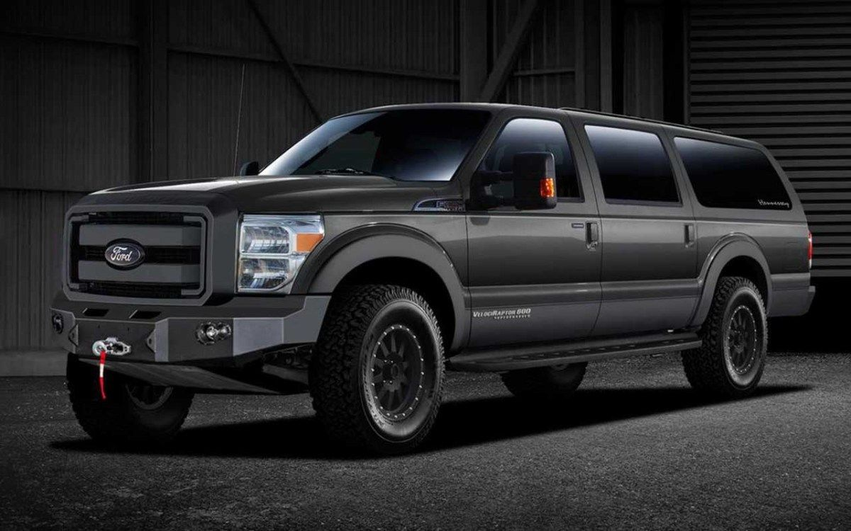 Ford excursion lives on through 2016 hennessey velociraptor suv