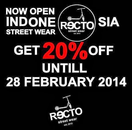 RECTO   CLOTHING COMPANY : RECTO INDONESIAN STREET WEAR
