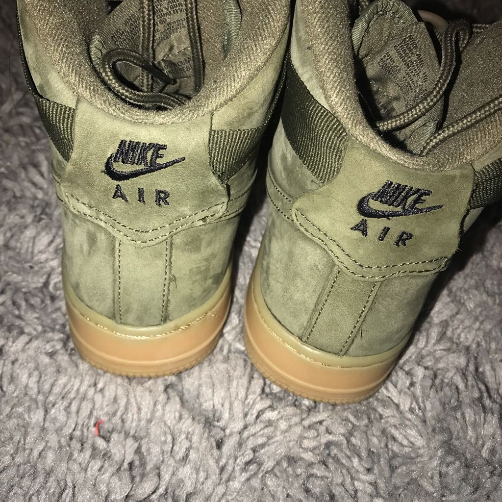 shoes, nike, nike air force 1, tan, kids shoes, kids fashion