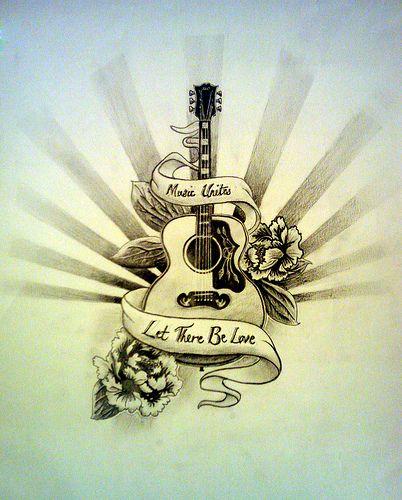 Guitar Tattoo Just Do It Pinterest Guitar Tattoo Tattoos And