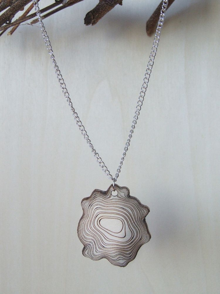 Image of Bark necklace TWO