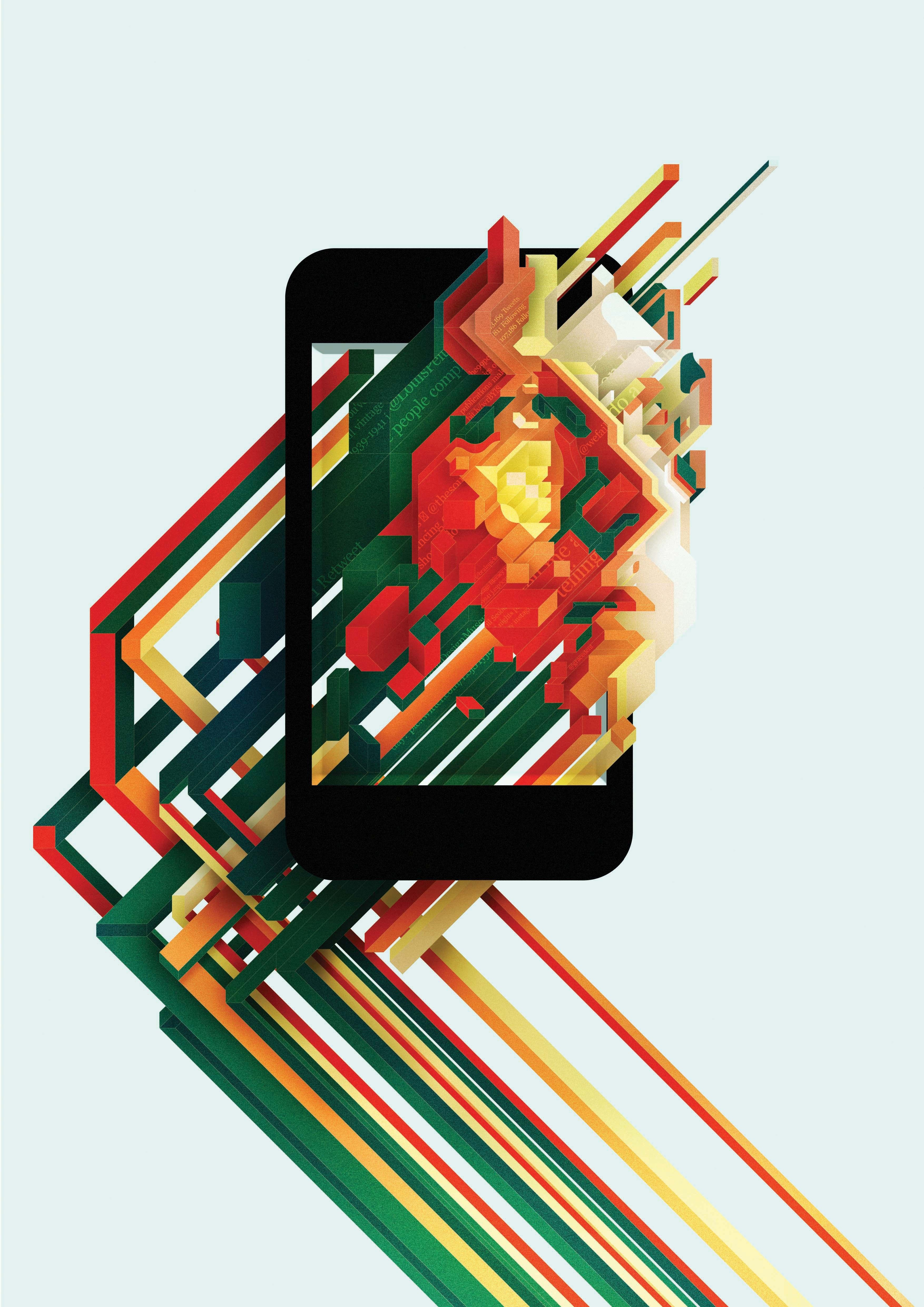The Best Abstract Digital Art Illustrator Wallpapers