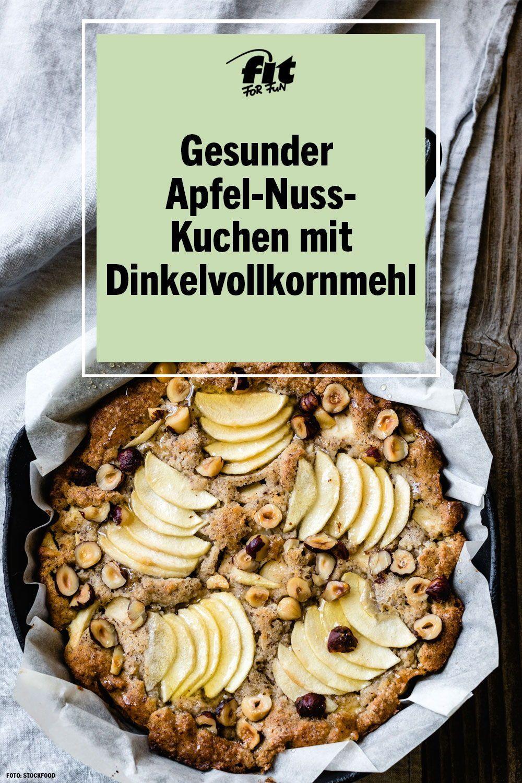 Gesunder Apfel-Nuss-Kuchen Chiara&GesundesEssen in 16  Apfel