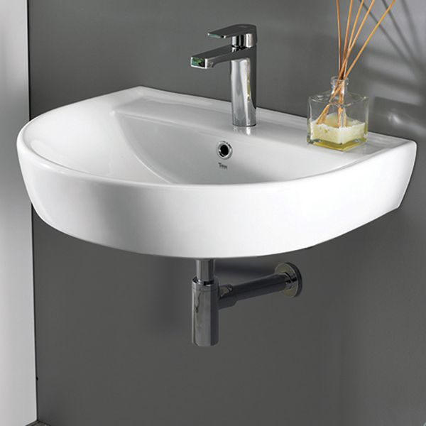 round white ceramic wall mounted sink bath fixtures rh pinterest it