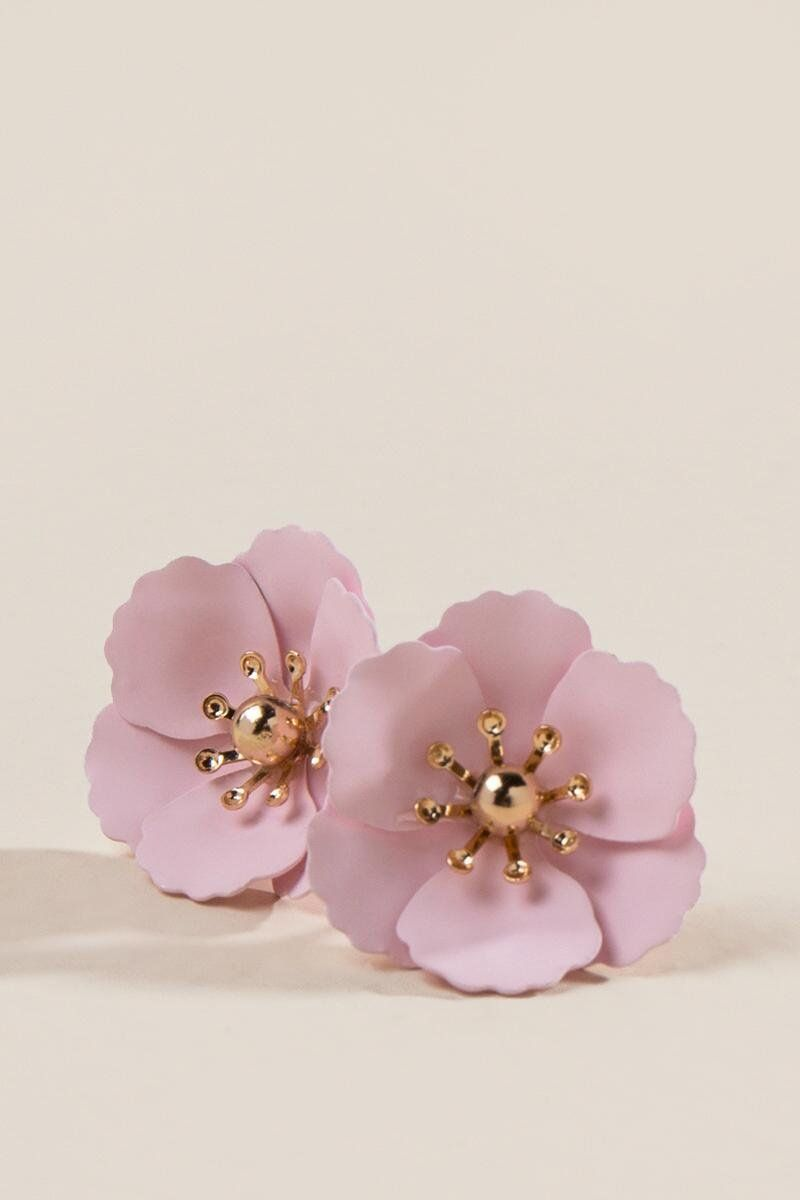 Primrose Floral Studs