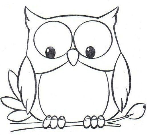 Pin de Shelly Weaver en Owls   Pinterest   Dibujo, Molde y Lechuzas