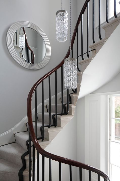 Best Elegant Mahogany Handrail And Stairs Architect Studio 400 x 300