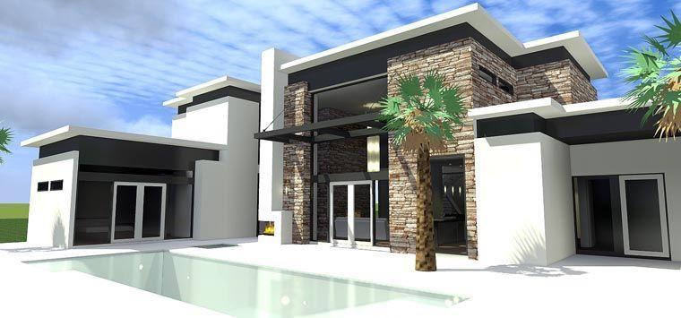 Modern House Plan 70807 Pitt Home 2019 House Plans Modern House