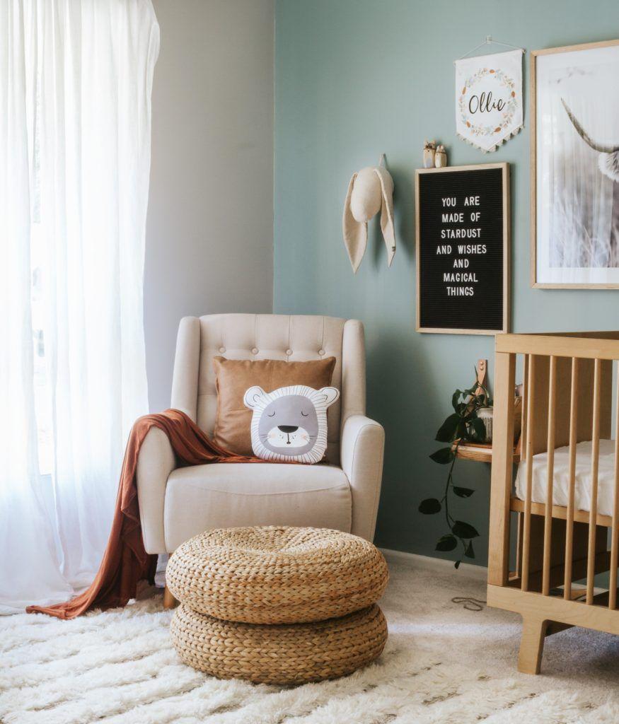 25 Cute And Comfy Scandinavian Nursery Ideas: Dětský Pokoj A Interiéry