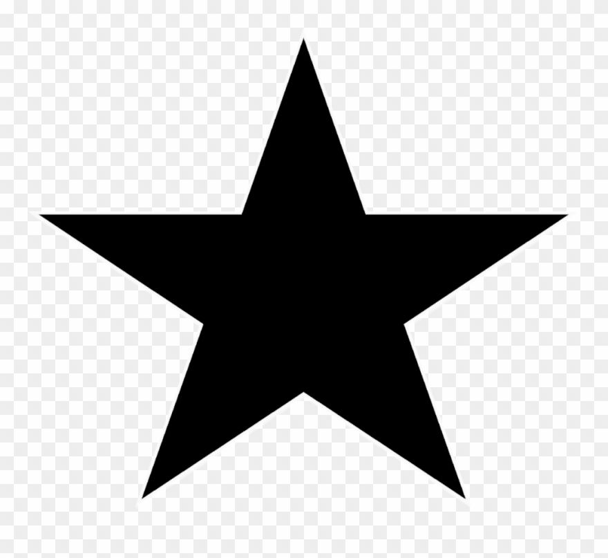 Download Hd A Black Star Transparent Background Star Png Clipart And Use The Free Clipart For Your Creative Projec Clip Art Black Star Transparent Background