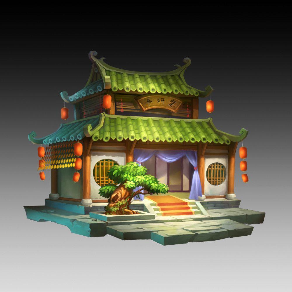 Artstation 小倩 Mh C Game Art Cute Games Japan Sakura