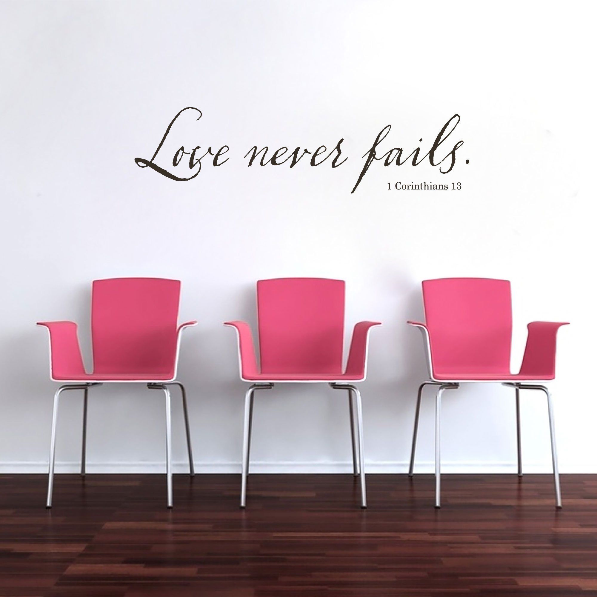 1 Corinthians 13 Wall Decor Wall Stickers Decals Wall Decoration Wall Murals Wall Script Letters Scripture Wall Art Bible Verse Q17 Bible Verse Wall Art Wall Decor Christian Wall Decals