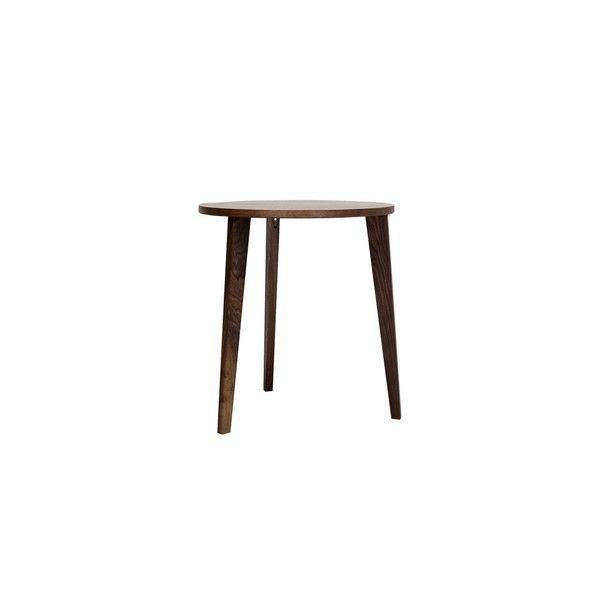 Runder Esstisch aus Nussbaum für kleine Küche, kleines Esszimmer ...