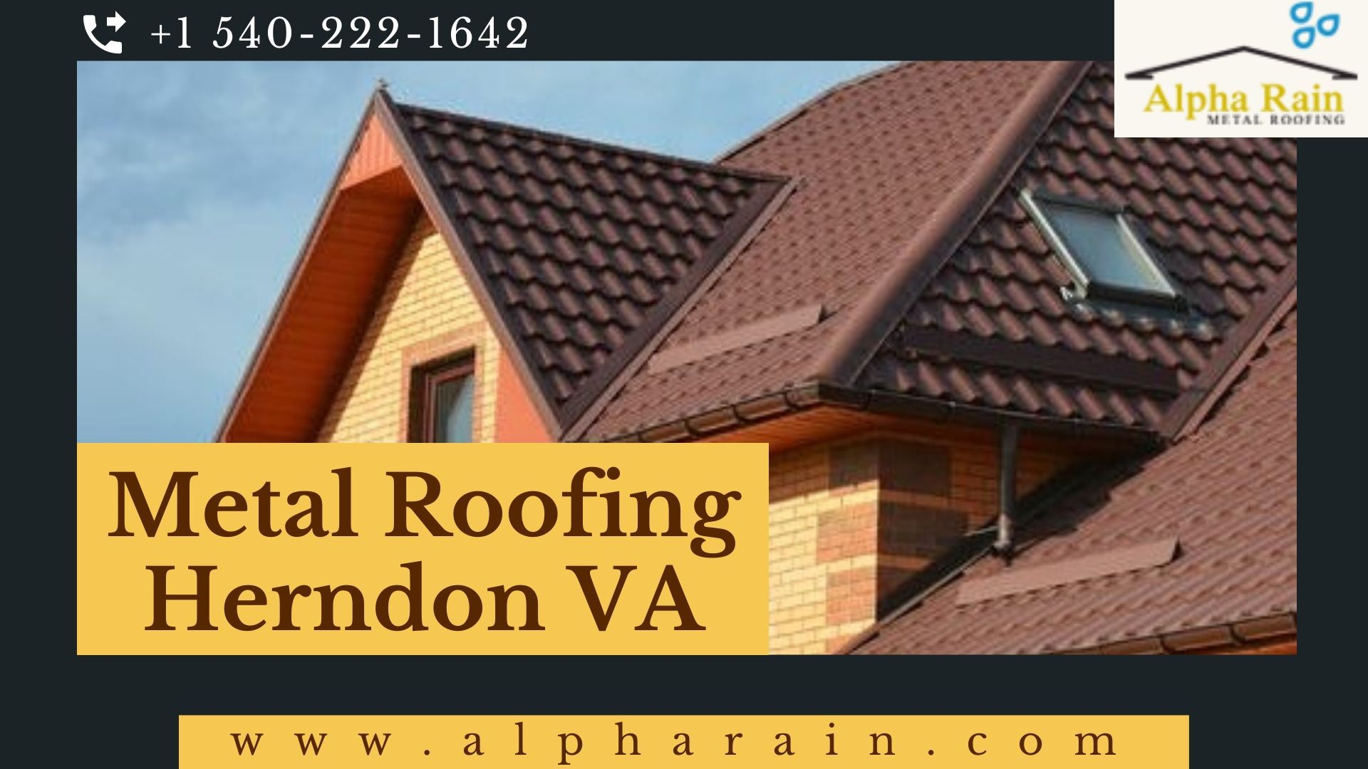 The Metal Roofing Company In Herndon Va Are Remodelling The Houses With Their Fresh Developed Skilled And By The Efforts Of The Labo Metal Roof Roofing Herndon