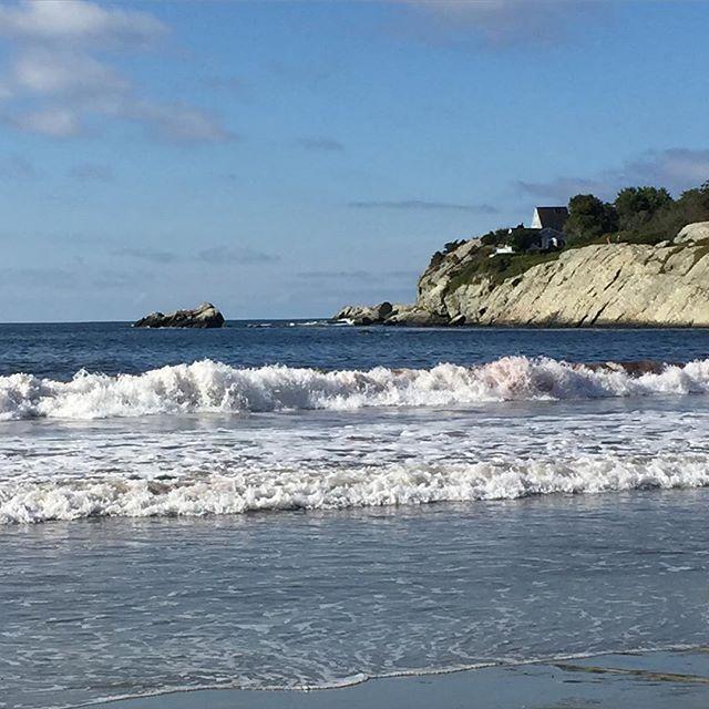 Rhode Island Beaches: View Of The Day: Sachuest Beach, Middletown, Rhode Island