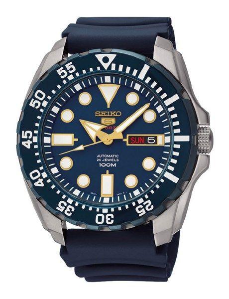 19397576b6b Relógio SEIKO Os Relógios Seiko 5 oferecem tecnologia mecânica com  movimento automático a um preço acessível. Os relógios Seiko