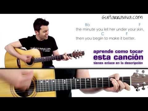 Losing My Religion de REM en guitarra fácil tutorial guitarraviva DEMO - YouTube