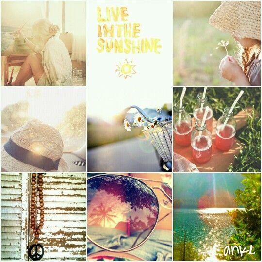 Moodboard  Live in thé sunshine #anke