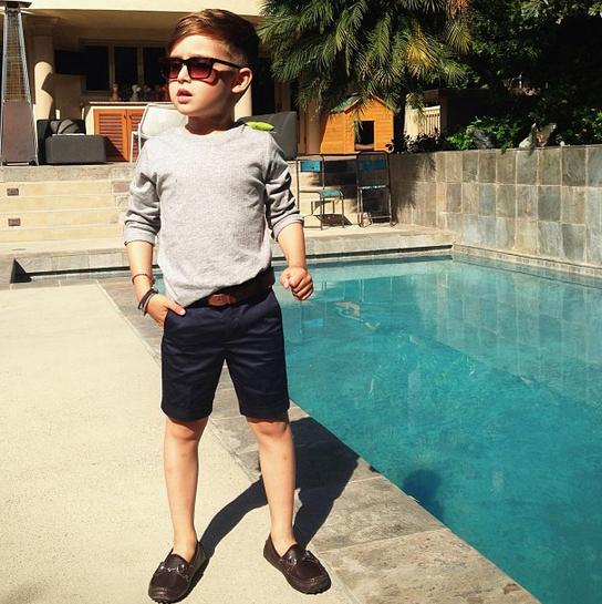 Selfie alert: Is dit de meest stijlvolle kleuter van Instagram?   NSMBL.nl