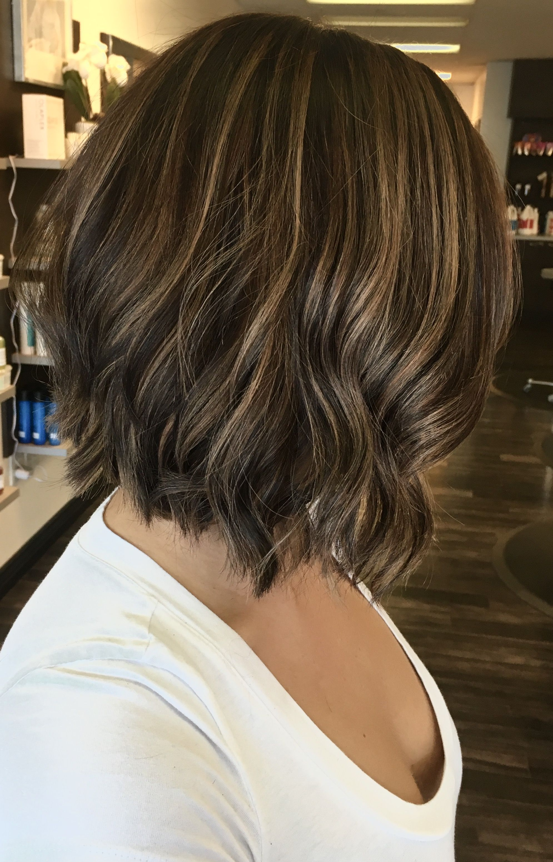 Dark Brown Ombre Short Hair Salon Imgurl