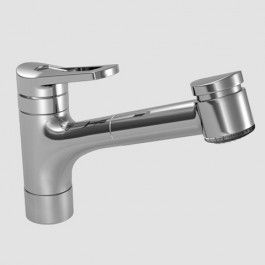 Kwc Single Hole Pull Out Lever Handle Kitchen Faucet Single Hole