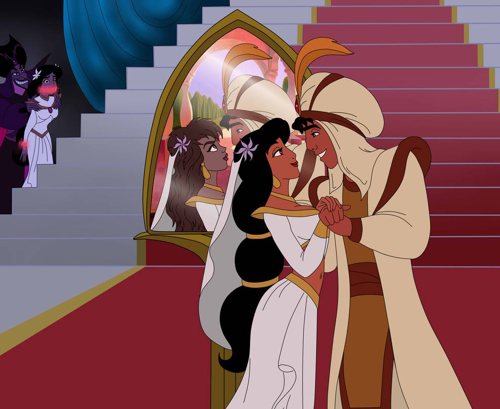 Sadira Jafar And Jasmine Page 2 By Serisabibi On Deviantart Jafar Artist Aladdin And Jasmine [ 809 x 988 Pixel ]
