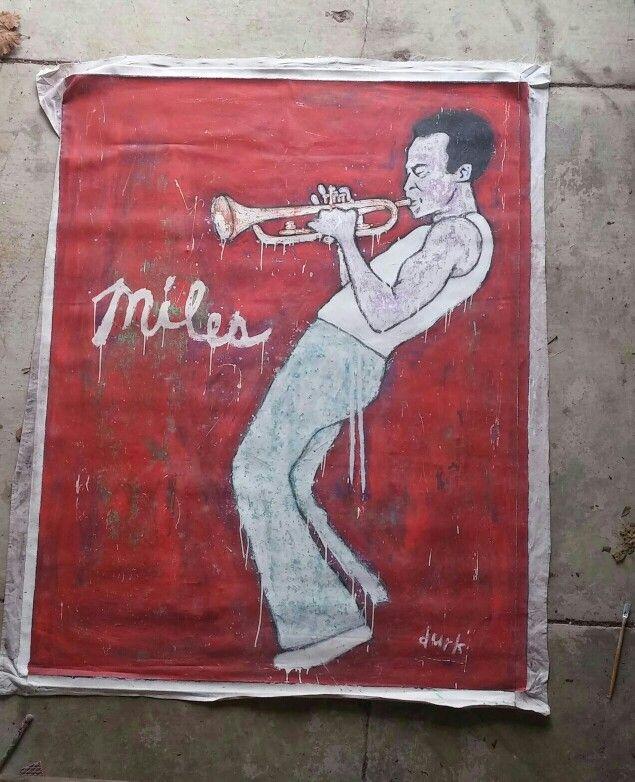 My 6 ft x 7 ft of Miles Davis