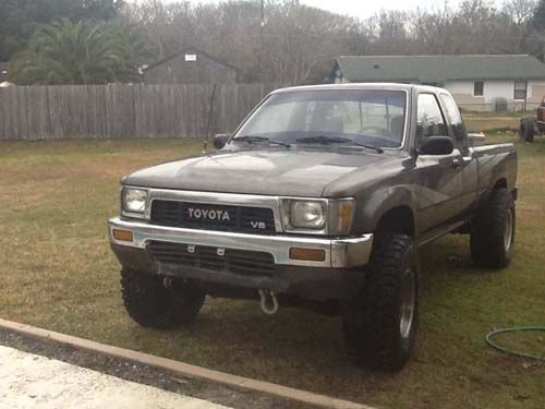 Dream truck- toyota pickup w/ extended cab  Silver, blue, or