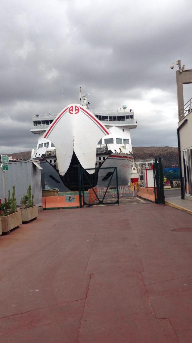 boot van tenerife naar gran canaria