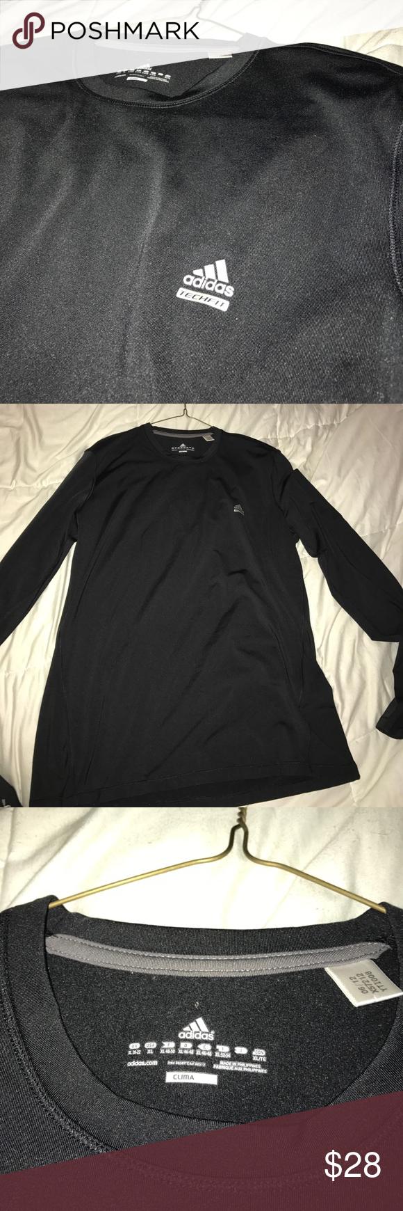 Adidas Techfit climalite running shirt Never worn before