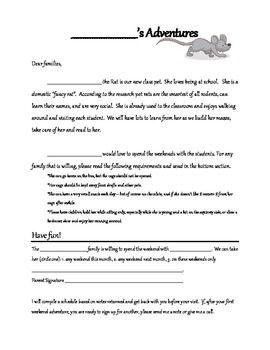 Class Pet Rat Note Class Pet Pet Rats Classroom Pets