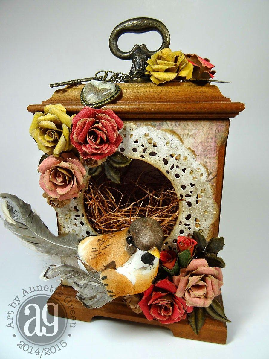 Annette's Creative Journey: Compendium of Curiosities III Challenge #3- Faux Tea Roses