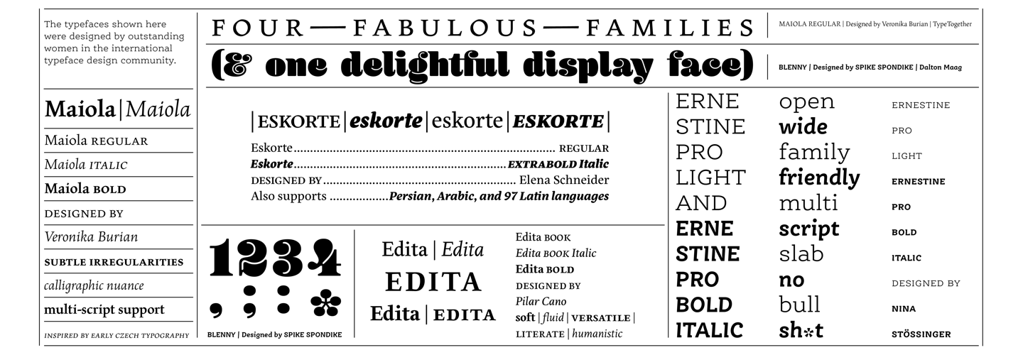 Download Browse fonts in the Fonts by Women font pack | Adobe Fonts ...