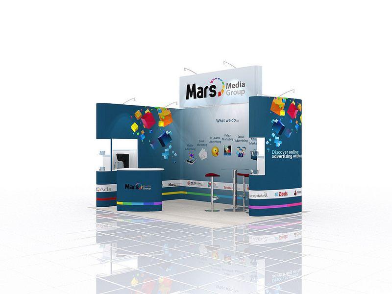 Custom Built Exhibition Stand Design (946)