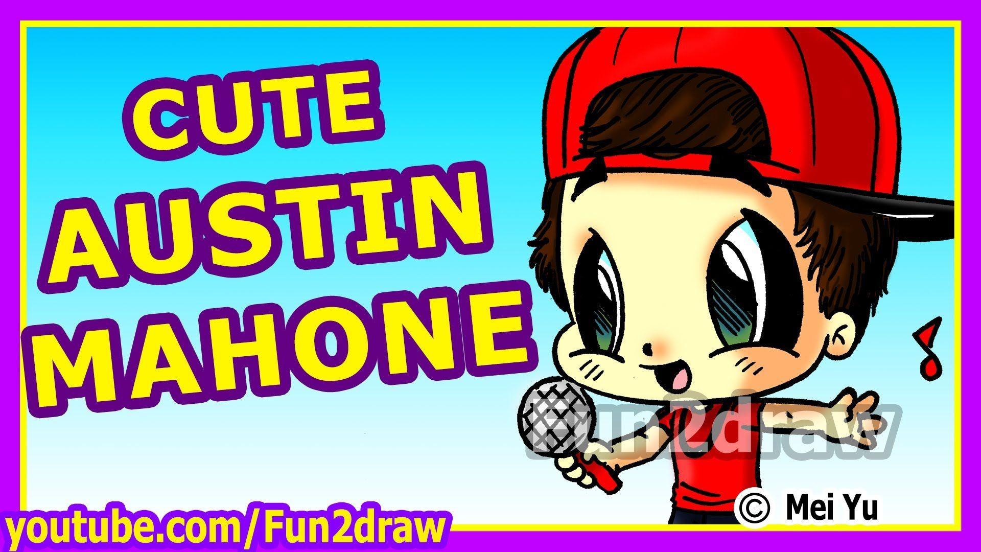 Cute Austin Mahone How To Draw People Fun2draw Fun2draw Drawing People Cute Drawings